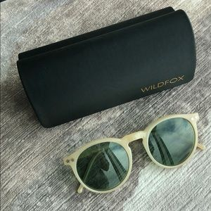 Wildfox Steff sunglasses in nude